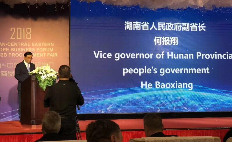 Vice Governor of Hunan Province-He Baoxiang